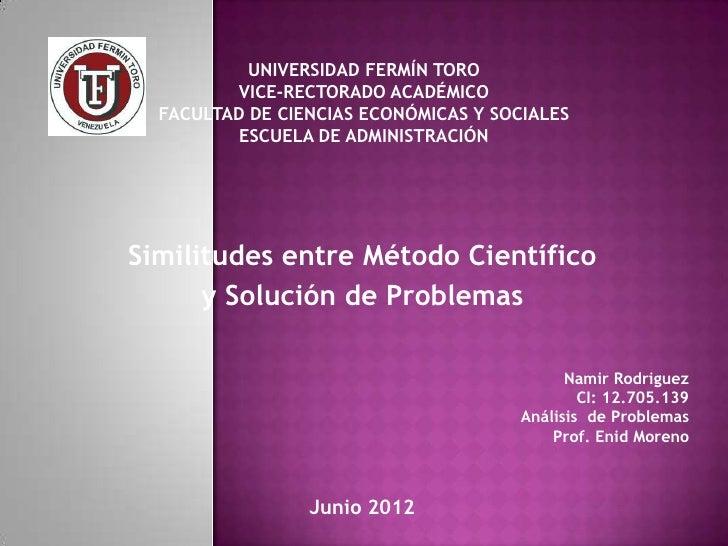UNIVERSIDAD FERMÍN TORO         VICE-RECTORADO ACADÉMICO  FACULTAD DE CIENCIAS ECONÓMICAS Y SOCIALES          ESCUELA DE A...