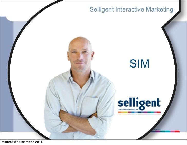Selligent Interactive Marketing                                           SIM                                            C...