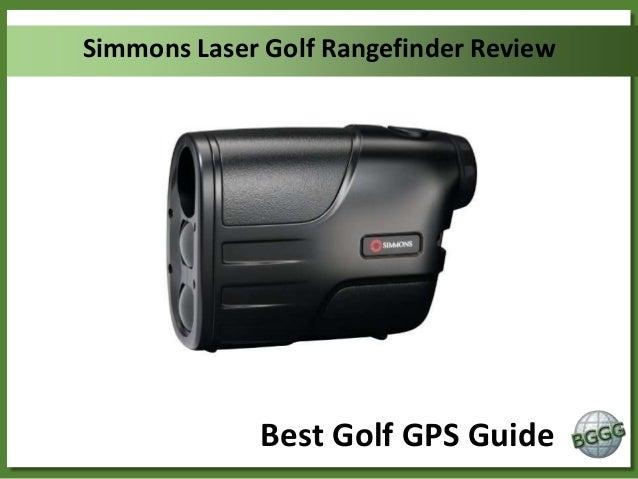 Simmons Laser Golf Rangefinder Review  Best Golf GPS Guide