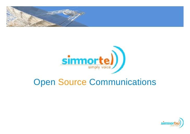 Open Source Communications