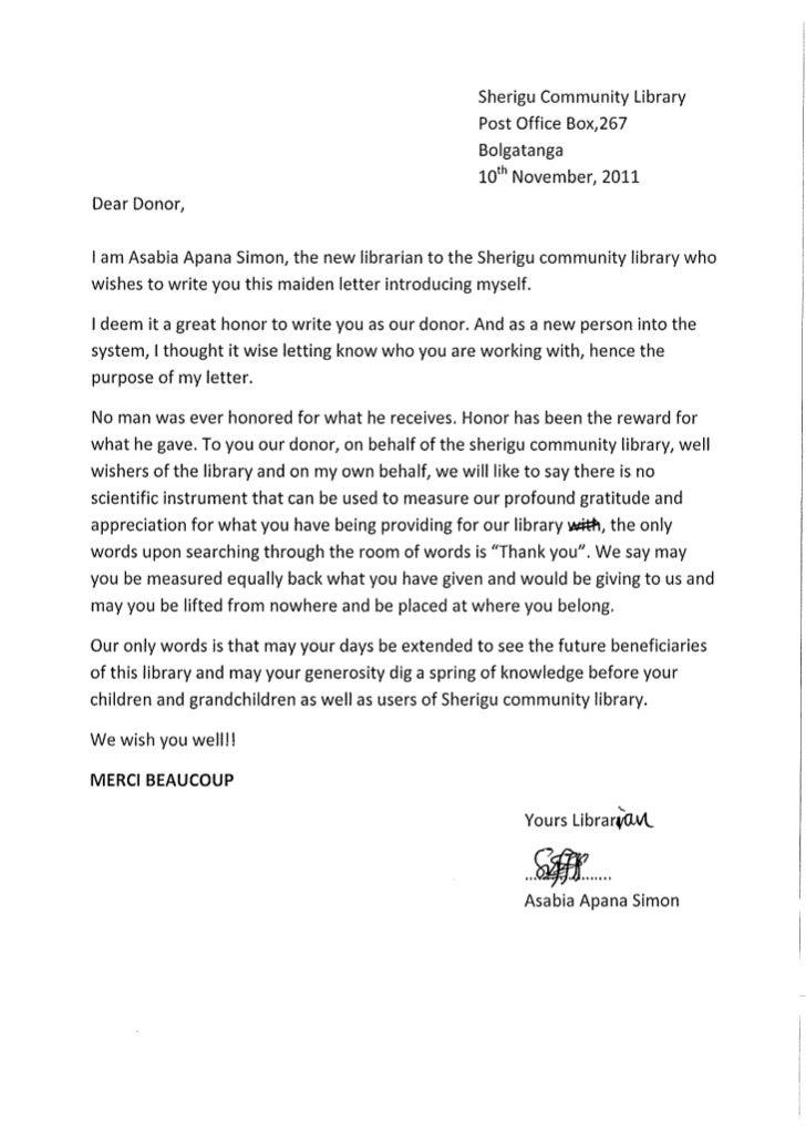 Simon Asabia letter 2011