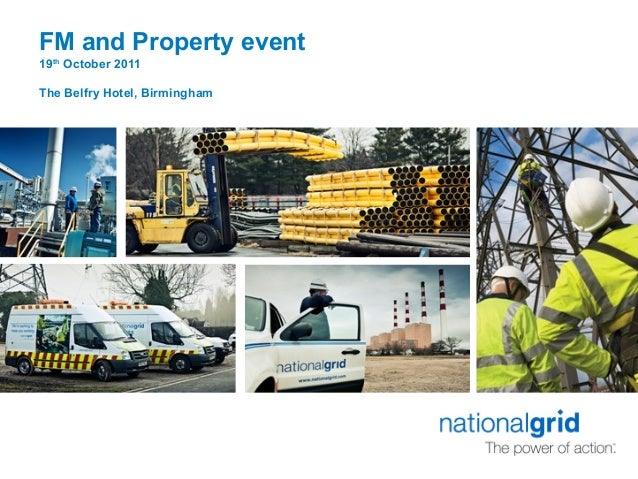 Simon Carter, Head of Corporate Property at National Grid