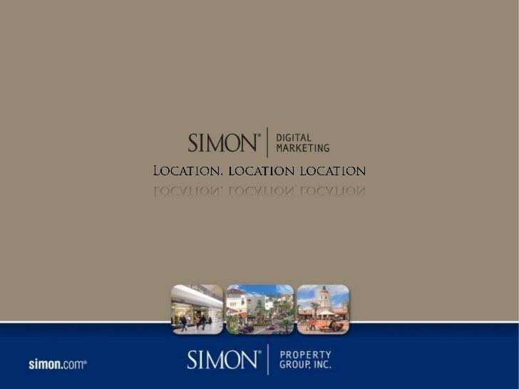 Location, location location<br />