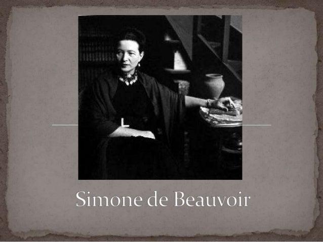  (París, 1908-1986) Pensadora y novelista francesa,representante del movimiento existencialista ateoy figura importante e...