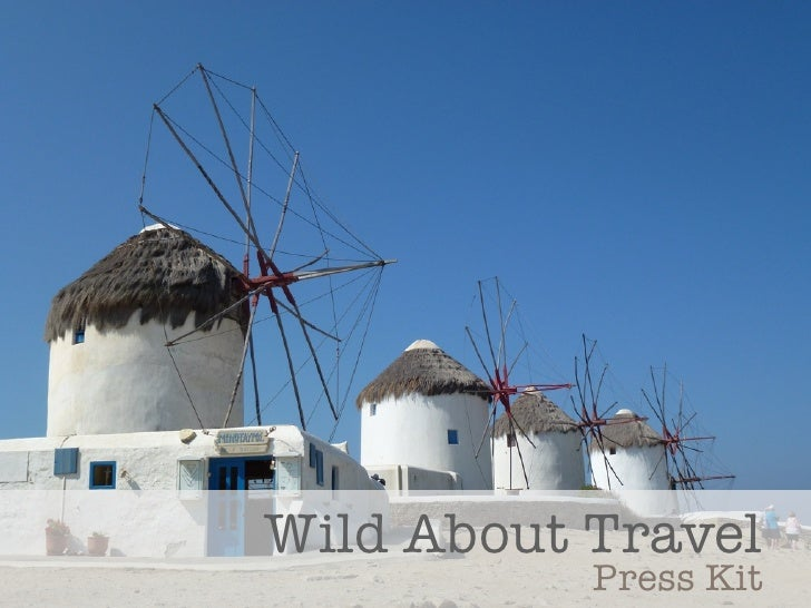 Wild About Travel           Press Kit