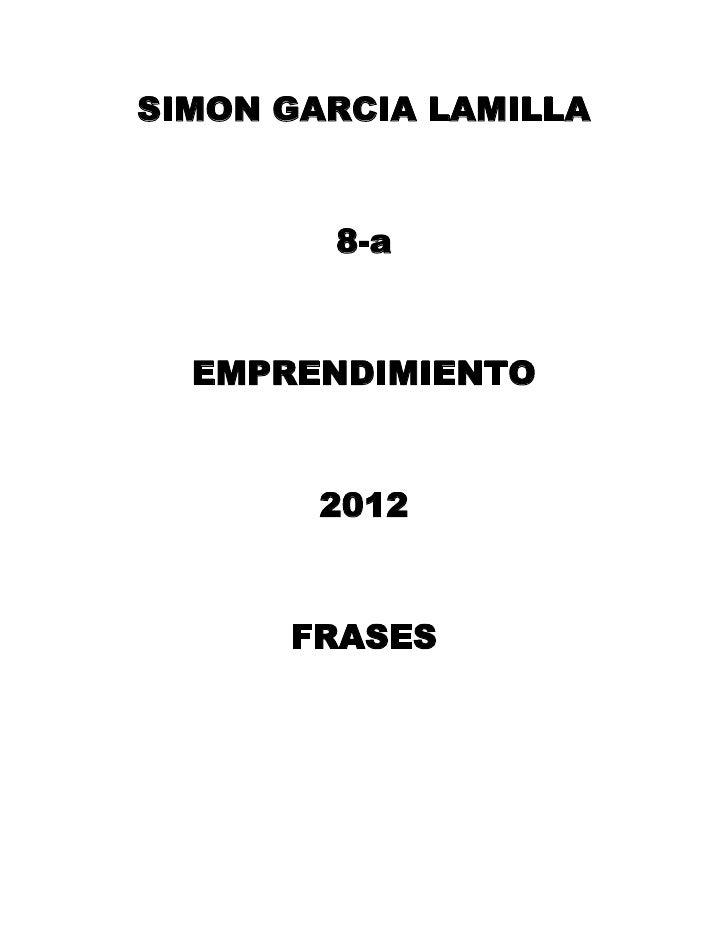 Simon garcia lamilla