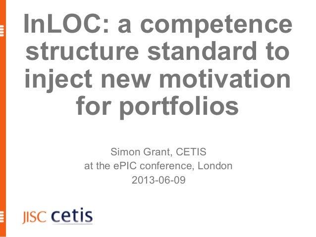 InLOC: new motivation for portfolios