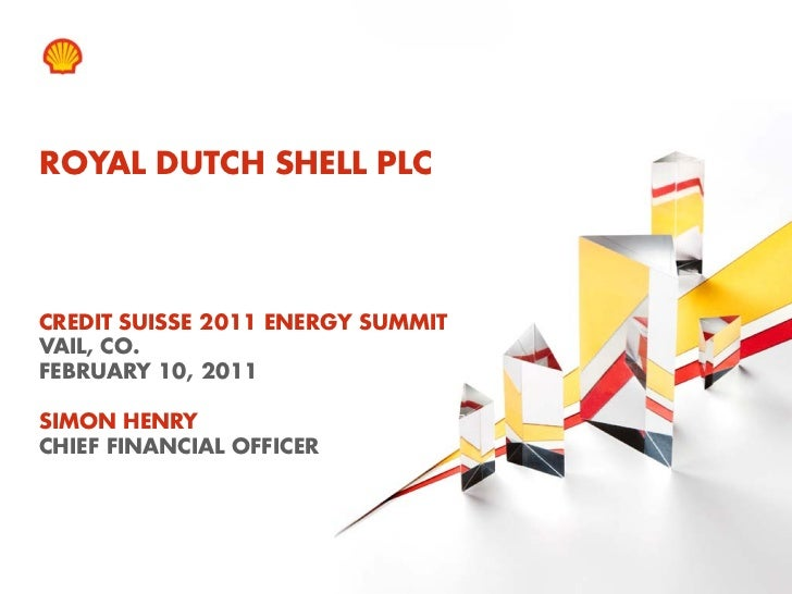 Simon Henry - Credit Suisse Energy Summit - February 10, 2011