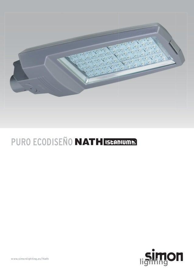 Simon Lighting Luminarias viales - Nath Istanium® LED - photo#18