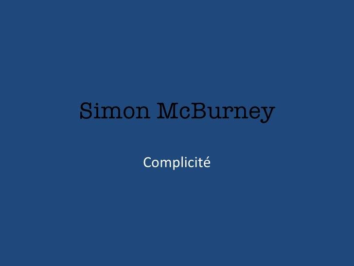 Simon McBurney Complicité