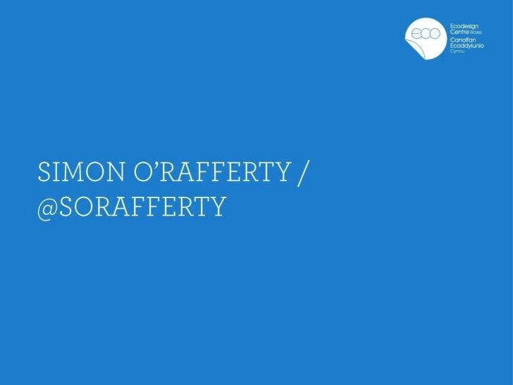Simon o rafferty   edc cew event presentation
