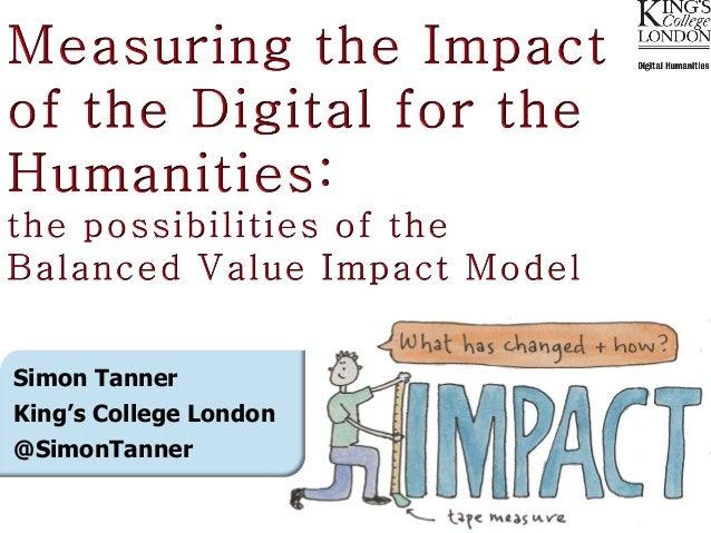 Simon TannerKing's College London@SimonTanner