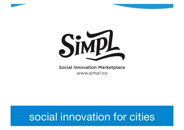 social innovation for cities
