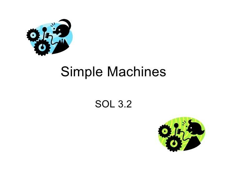 Simple Machines SOL 3.2