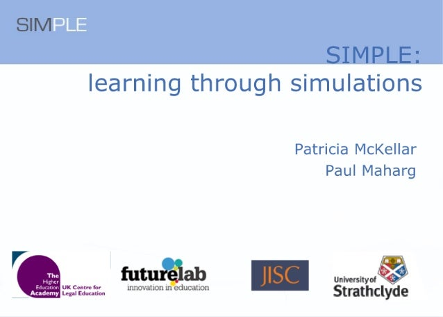 SIMPLE -- SIMulated Professional Learning Environment