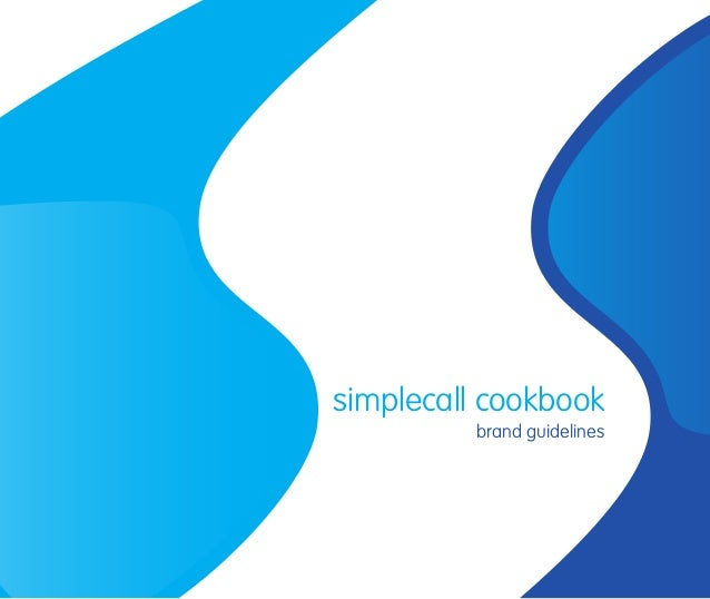 simplecall cookbook brand guidelines