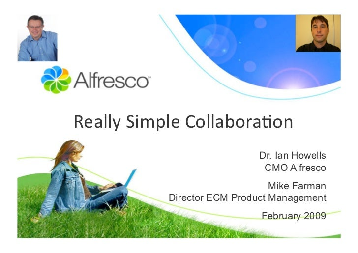 Really Simple Collaboration with Alfresco Share