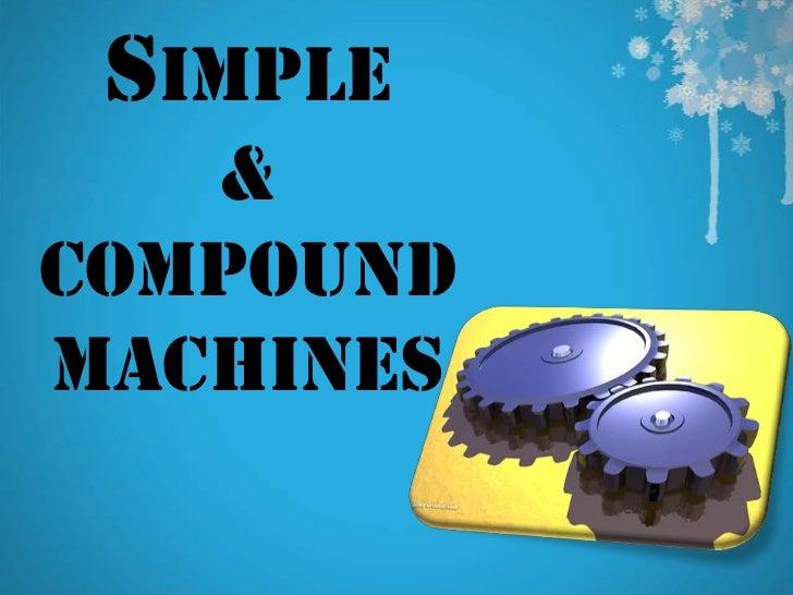 Similiar Compound Machines Keywords