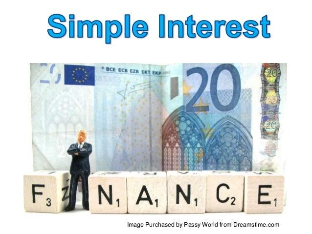 Basic Simple interest