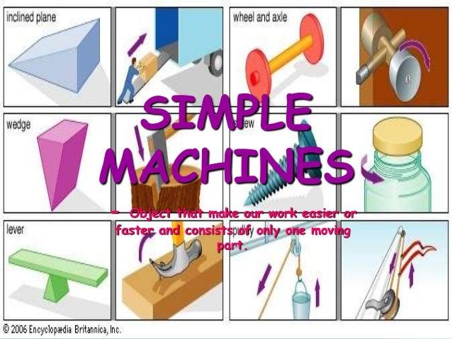 simple machine pictures