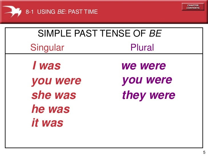 Is it possible to write a past tense story without using any