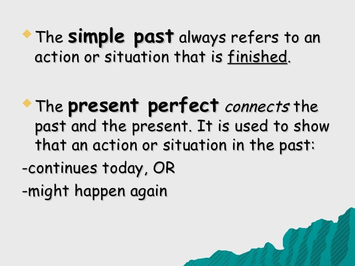 simple present and present perfect exercises pdf