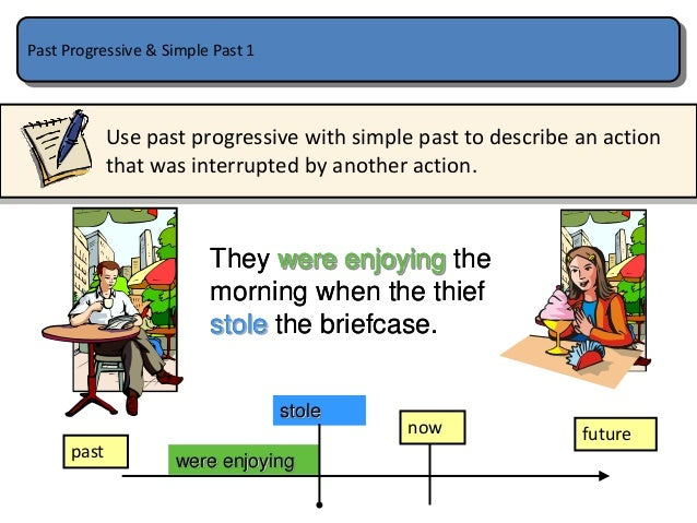 simple past vs past progressive Past tenses - simple or progressive (continuous) - free english online exercise.