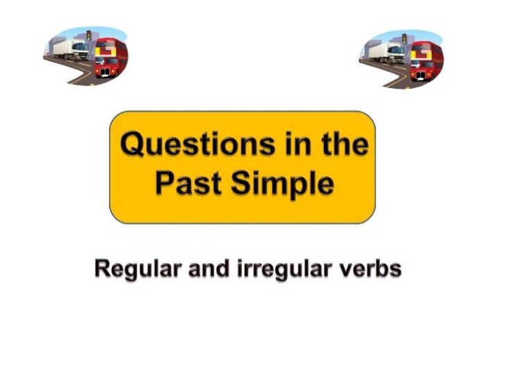 Simple past wh questions
