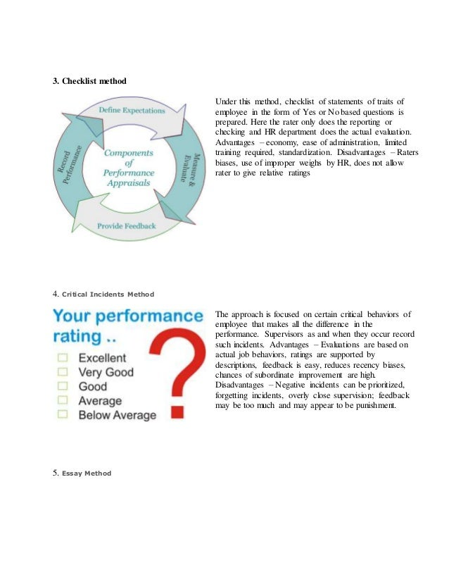 the advantages and disadvantages of performance appraisal management essay Disadvantages of performance appraisal performance appraisal methods 1 essay method w4 hrm 531 performance management plan wd.