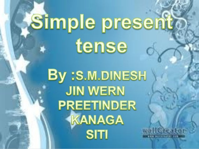 We use simple present to talk about things in general, we are not thinking only about the present. We use it to say that s...