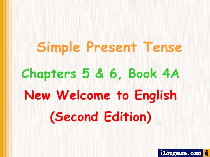 Imagenes de Simple Present Simple Present Tense Chapters