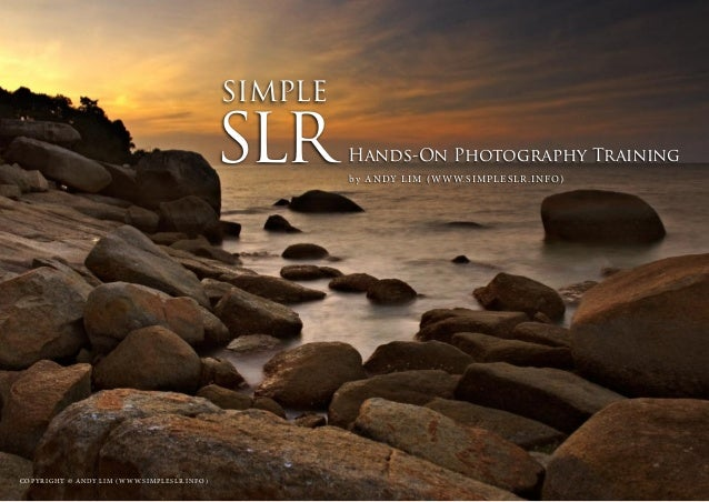 SIMPLESLR               Hands-On Photography Training                                                                     ...