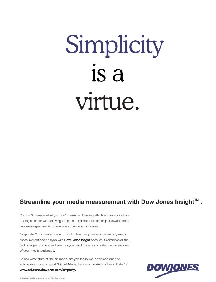 Simplicity                                                                  is a                                          ...