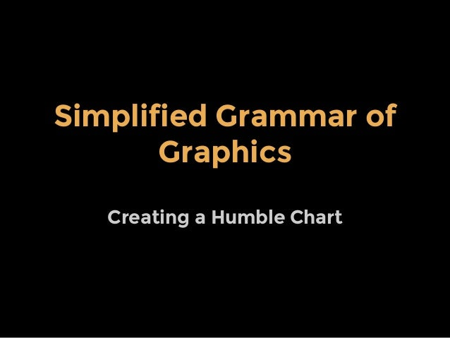 Simplified Grammar of Graphics