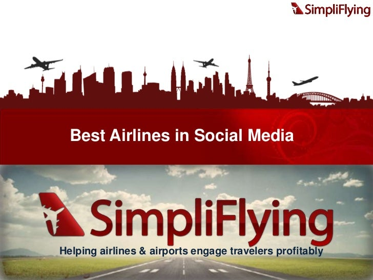 Best Airlines in Social Media - SimpliFlying Awards 2011