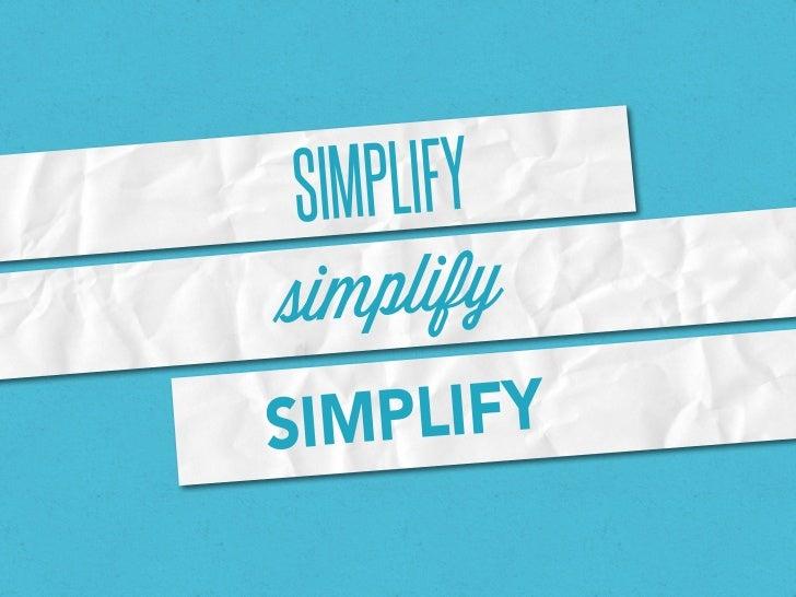 SIMPLIFYsimplifySI MPLIFY