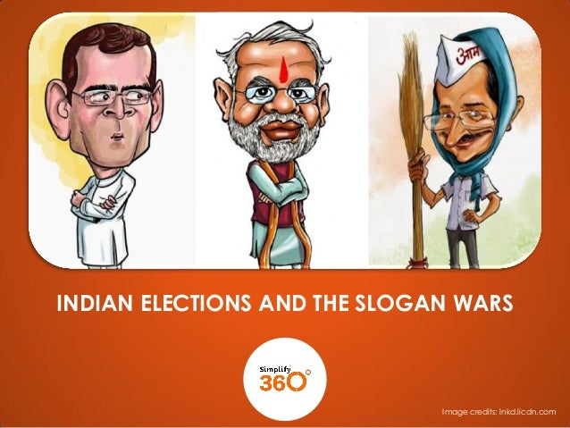The Indian Elections and The Slogan Wars