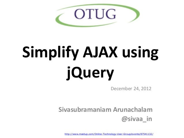 Simplify AJAX using jQuery