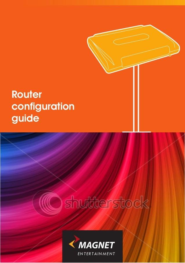 Routerconfigurationguide                ENTERTAINMENT