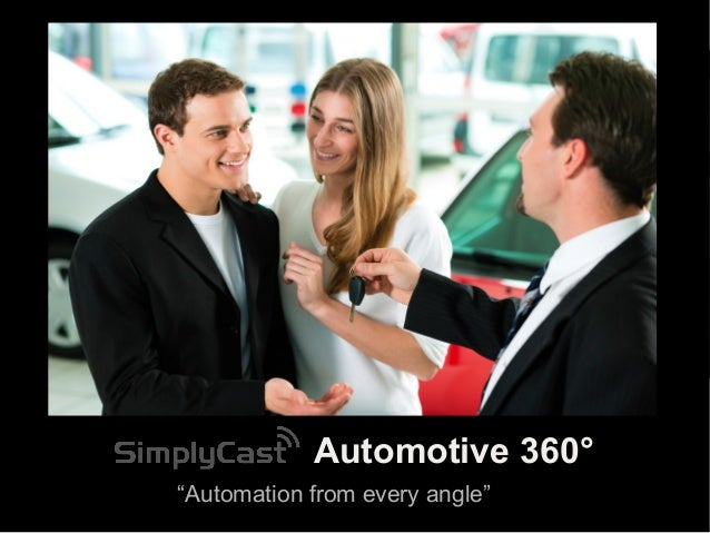 SimplyCast Automotive 360 - Automation From Every Angle