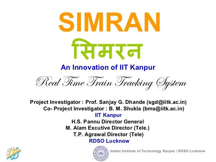 Simran presentation+iitk
