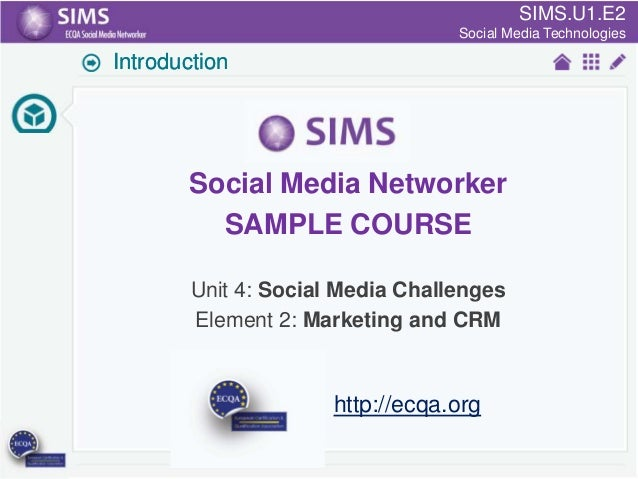 SIMS.U1.E2 SIMS.U4.E1 Culture of Sharing and Online Reputation Handling (Management) Social Media Technologies  Introducti...