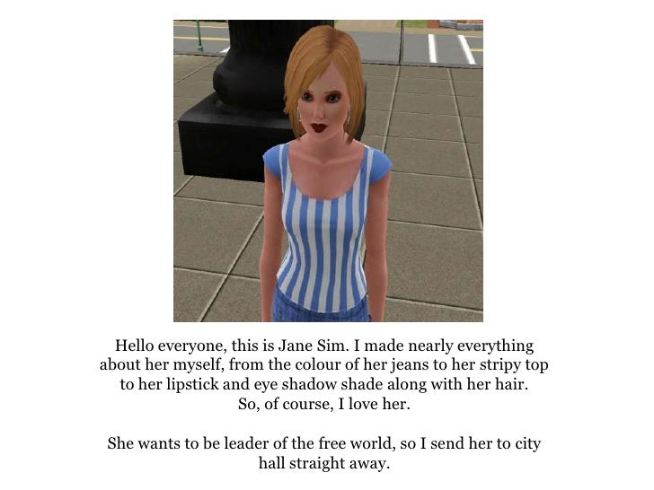 The Tale of Sim - part 1