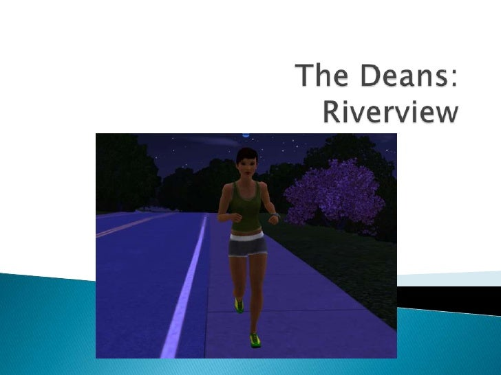Sims 3   The Deans