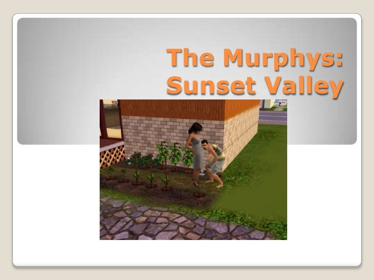 Sims 3   The Murphys