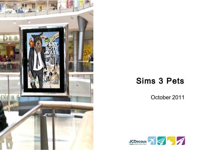 Sims 3 pets summary