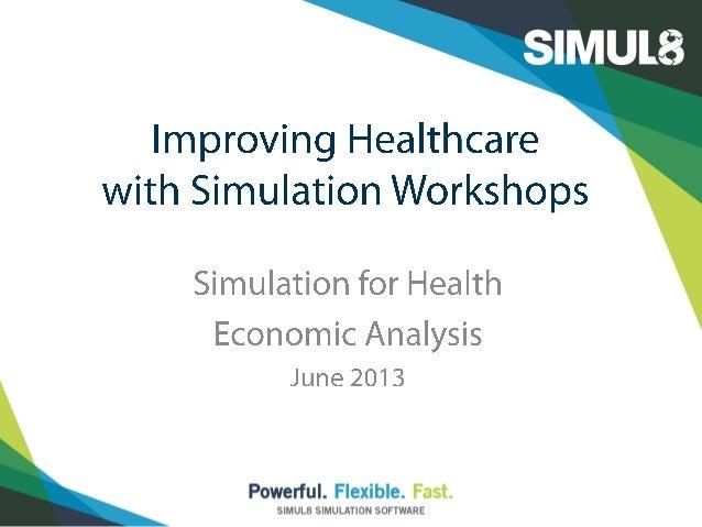 SIMUL8 Corporation | SIMUL8.com | info@SIMUL8.com1 800 547 6024 | +44 141 552 6888