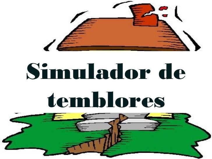Simulador de  temblores