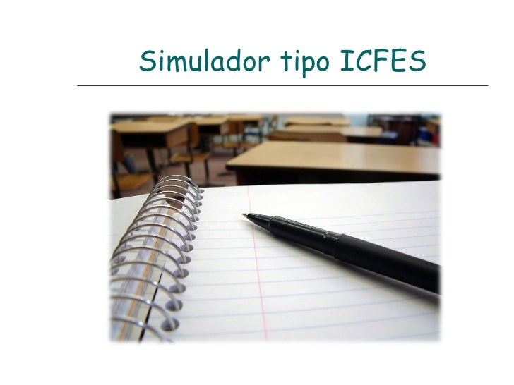 Simulador tipo ICFES