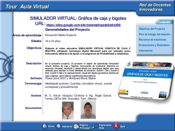 Red de DocentesTour Aula Virtual                                                                                          ...
